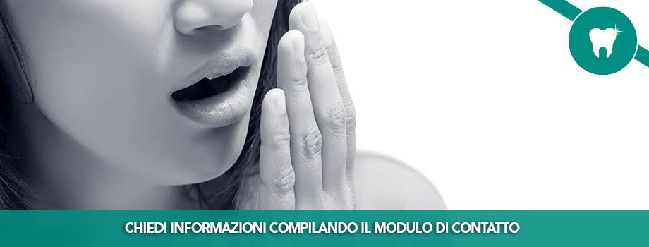 Cura dell'alitosi e delle patologie della bocca